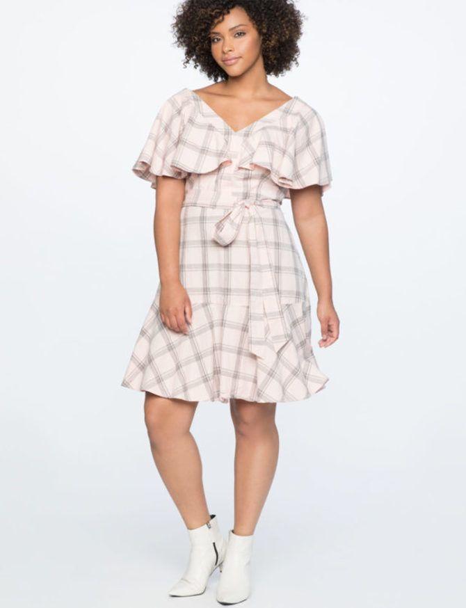 Модные летние платья на полных: тенденции 2020-2021 года 41