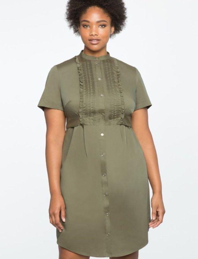 Модные летние платья на полных: тенденции 2020-2021 года 5