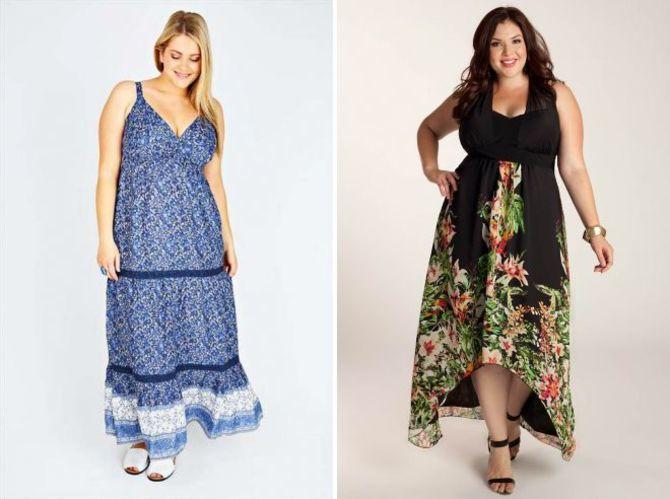 Модные летние платья на полных: тенденции 2020-2021 года 52