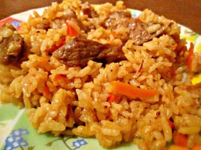 Аппетитный и рассыпчатый плов: приготовление блюда в казане, сковородке, мультиварке 2