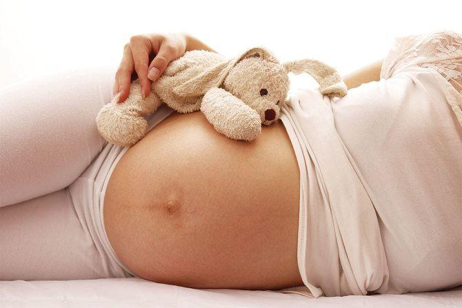 Долой растяжки во время беременности 8