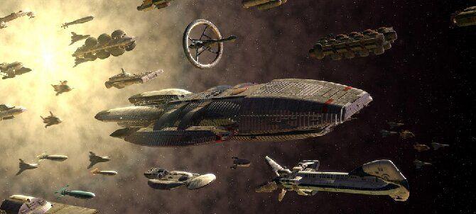 Звездный крейсер «Галактика»