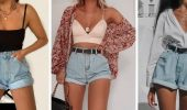 Denim shorts in 2020-2021: look stylish and trendy