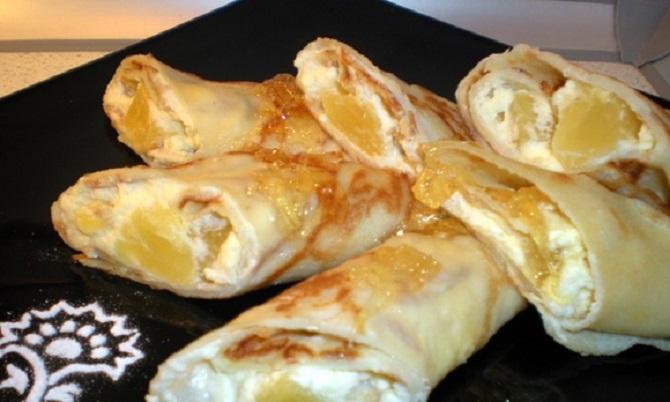 Сливочно-ананасовая начинка