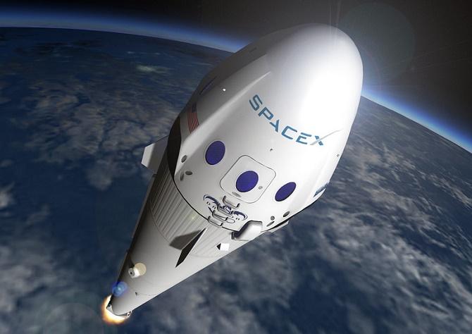 SpaceX создаст плавучую морскую платформу для пуска ракет на Марс 2