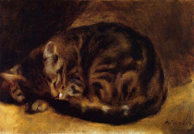 8 знаменитих художників, натхнених котами 1