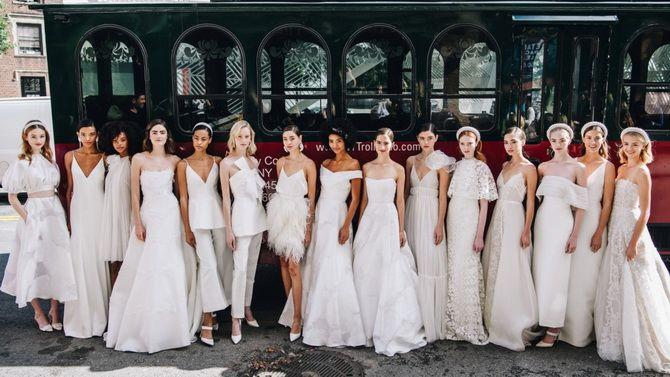 Модные свадебные платья 2020-2021