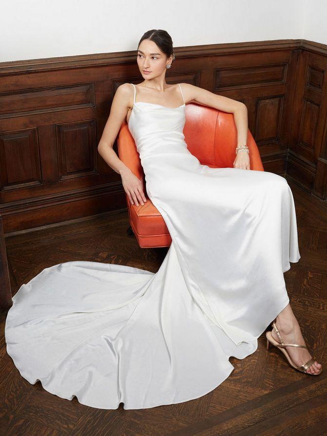 свадебные платья в бельевом стиле