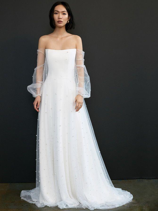 свадебные платья 2020 модные тенденции