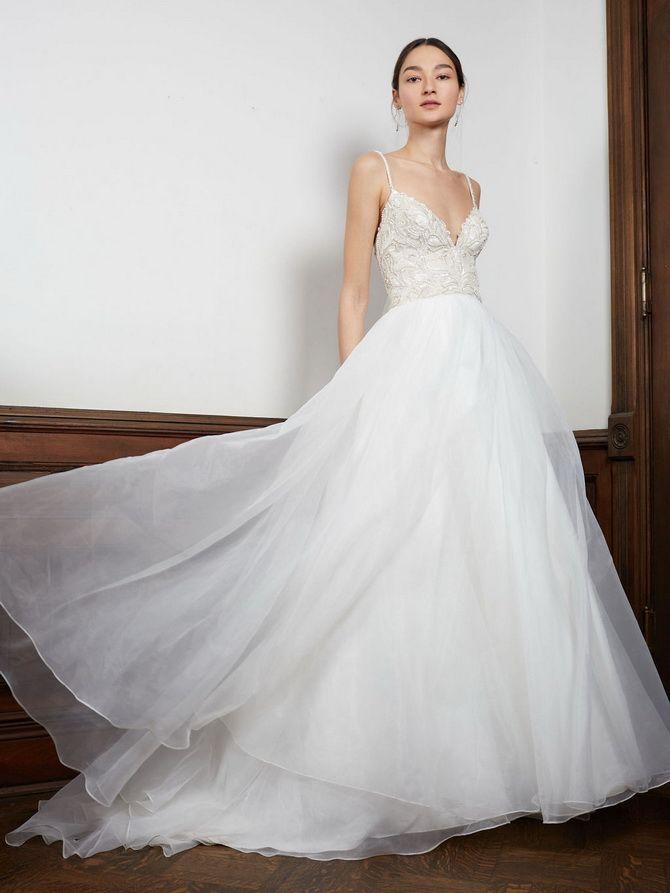 модели пышных платьев
