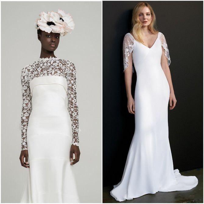модные свадебные платья 2020 фото