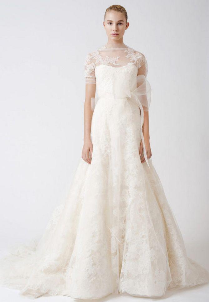 Закрытые платья на свадьбу 2020-2021