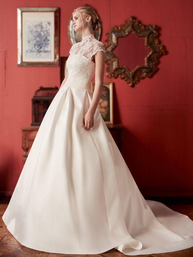 модные свадебные пышные платья