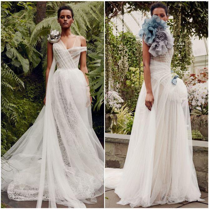 свадебные платья 2020 модные короткие