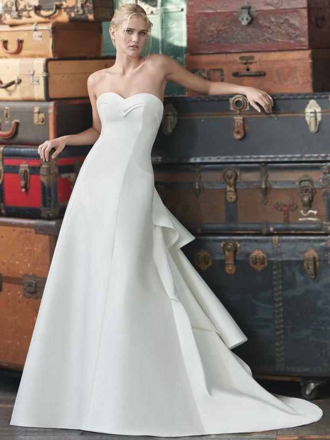 пышный свадебный платье