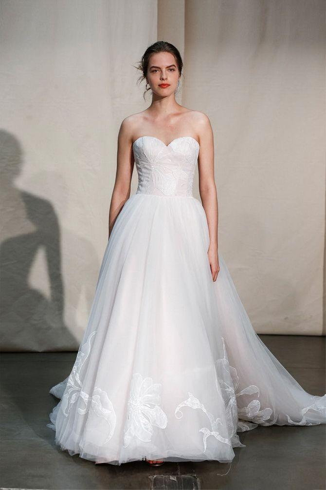 Свадебные платья-бюстье