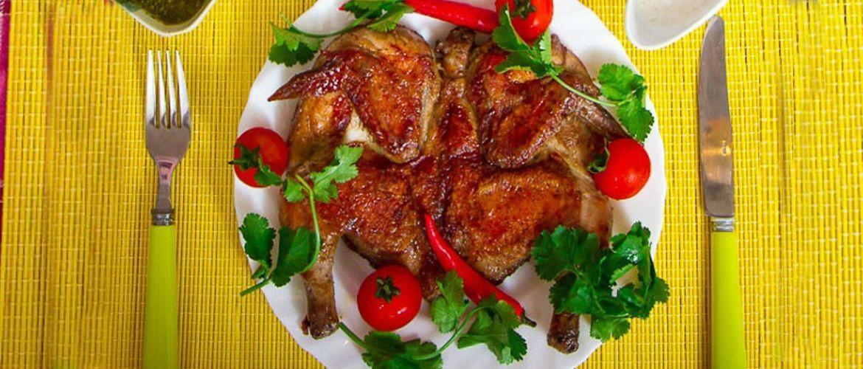 Цыпленок табака – чудо грузинской кухни