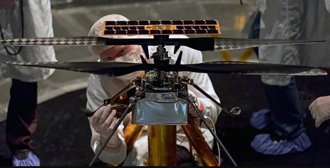 NASA отправит на Марс вертолет для изучения планеты с высоты птичьего полета 1
