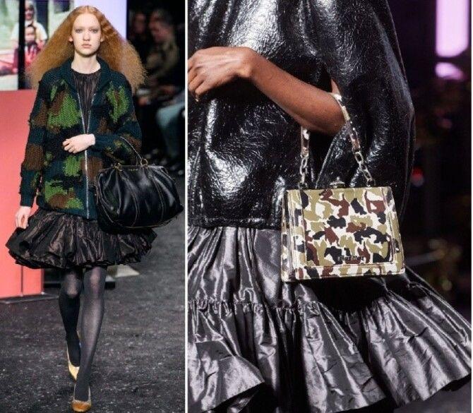 Модные мини-юбки с оборками 2021-2022 3