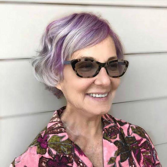 стрижка волос боб для женщин 50