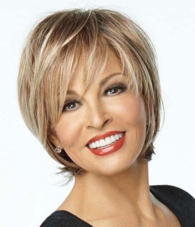 прически на короткие волосы женщинам 50 лет