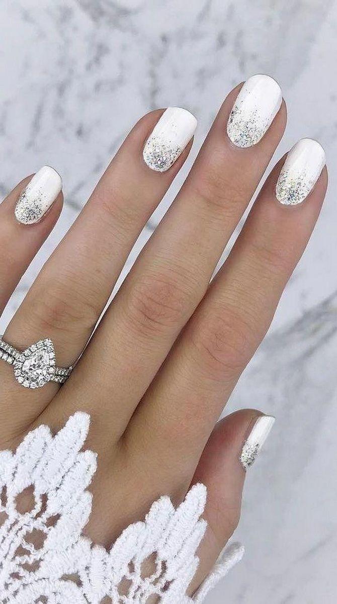 Весільний манікюр 2020: нігтики на вищому рівні 3