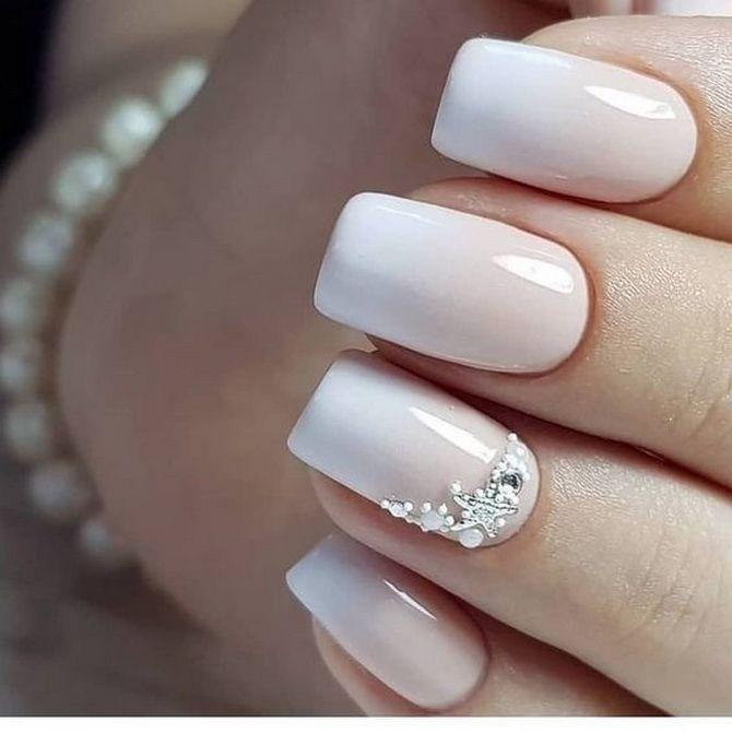 Весільний манікюр 2020: нігтики на вищому рівні 5