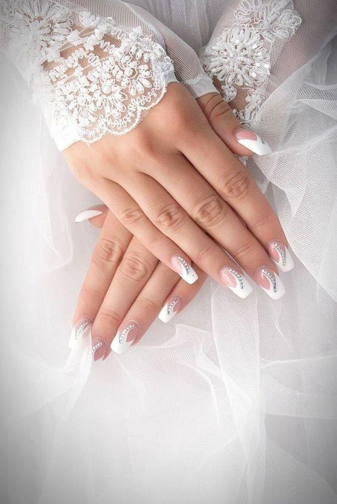 Весільний манікюр 2020: нігтики на вищому рівні 2