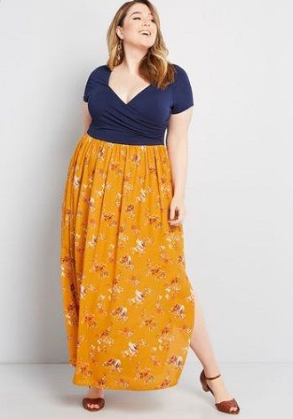 Без ограничений: модные летние юбки для полных женщин 2020 40