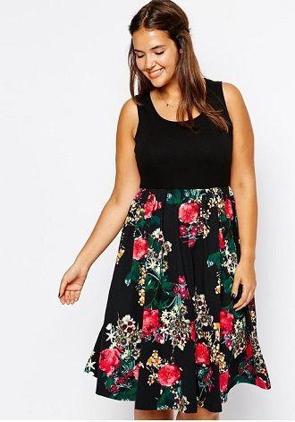 Без ограничений: модные летние юбки для полных женщин 2020 39