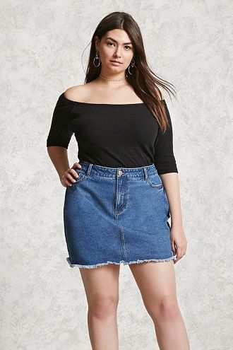 Без ограничений: модные летние юбки для полных женщин 2020 3