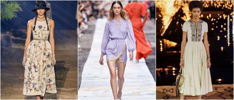 Льняное платье: ТОП-10 моделей 2020-2021 года