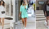 Повседневный наряд: лучшие платья-футболки 2021-2022 года