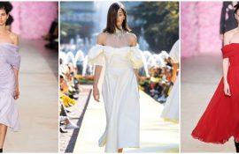 Літня романтика: обираємо сукню 2020-2021 року з відкритими плечима