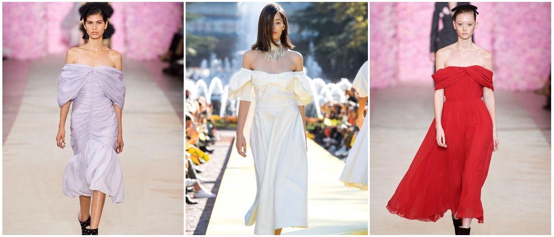 Літня романтика: обираємо сукню 2021-2022 року з відкритими плечима