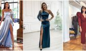 Модні сукні з розрізом: кращі фасони і силуети 2021-2022 року