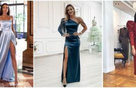 Модні сукні з розрізом: кращі фасони і силуети 2020-2021 року