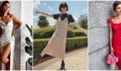 Платье на бретельках: выбираем лучшие силуэты 2020-2021 года