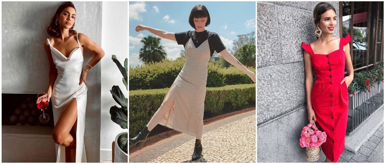 Сукня на бретельках: обираємо кращі силуети 2021-2022 року