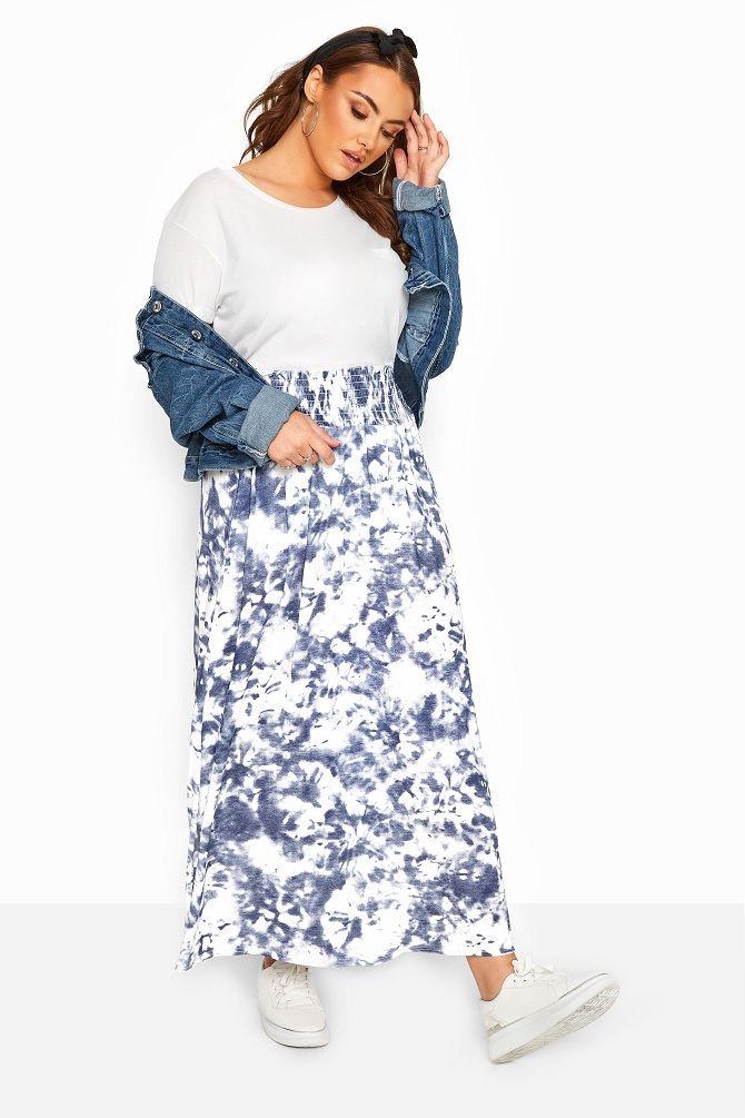 Без ограничений: модные летние юбки для полных женщин 2020 10