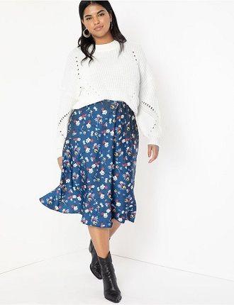 Без ограничений: модные летние юбки для полных женщин 2020 1