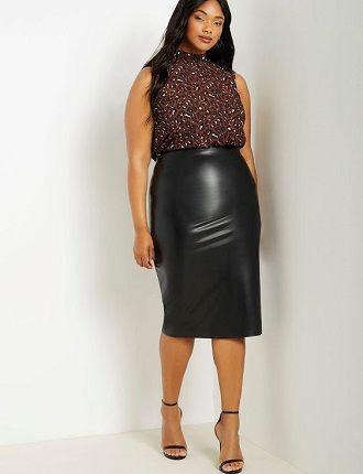 Без ограничений: модные летние юбки для полных женщин 2020 2