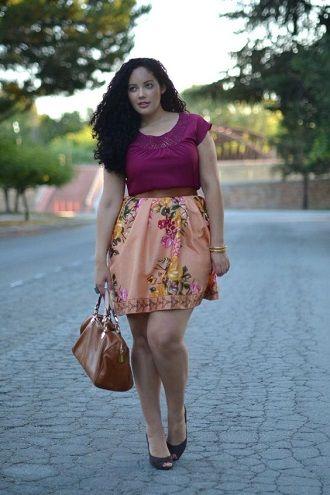 Без ограничений: модные летние юбки для полных женщин 2020 49
