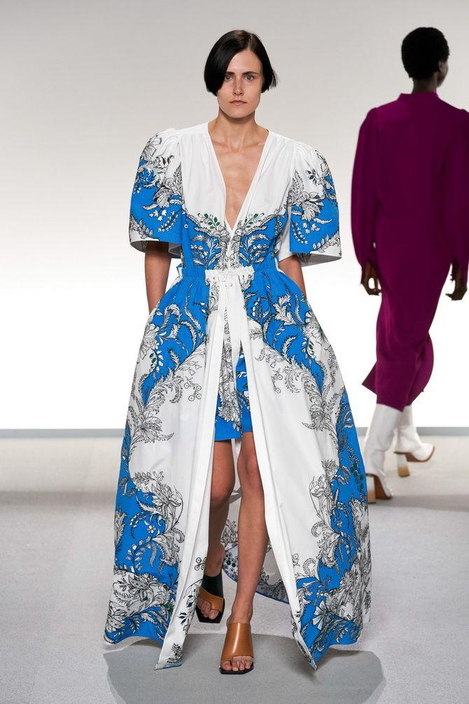 Модные платья с разрезом: лучшие фасоны и силуэты 2020-2021 года 12