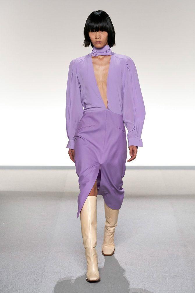 Модные платья с разрезом: лучшие фасоны и силуэты 2020-2021 года 14