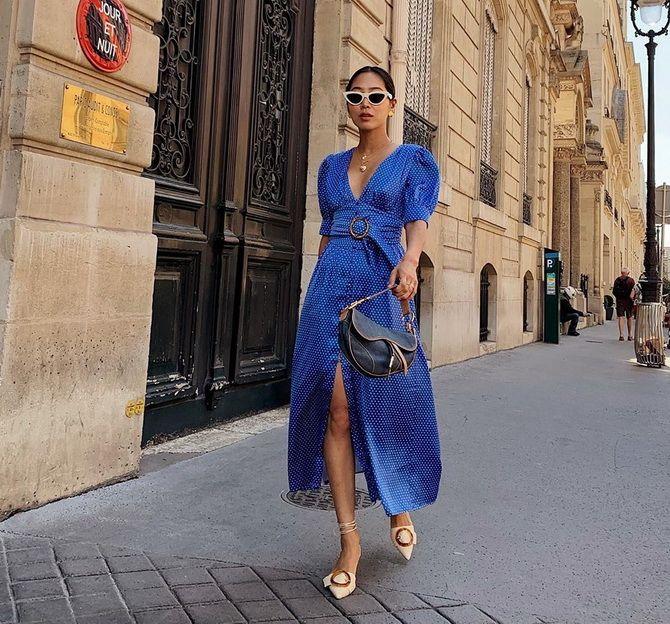 Модные платья с разрезом: лучшие фасоны и силуэты 2020-2021 года 15