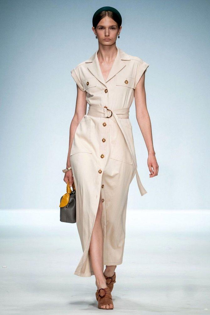Модные платья с разрезом: лучшие фасоны и силуэты 2020-2021 года 16