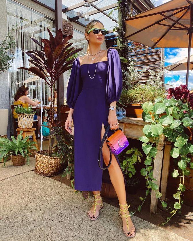 Модные платья с разрезом: лучшие фасоны и силуэты 2020-2021 года 22