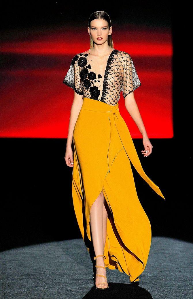 Модные платья с разрезом: лучшие фасоны и силуэты 2020-2021 года 25