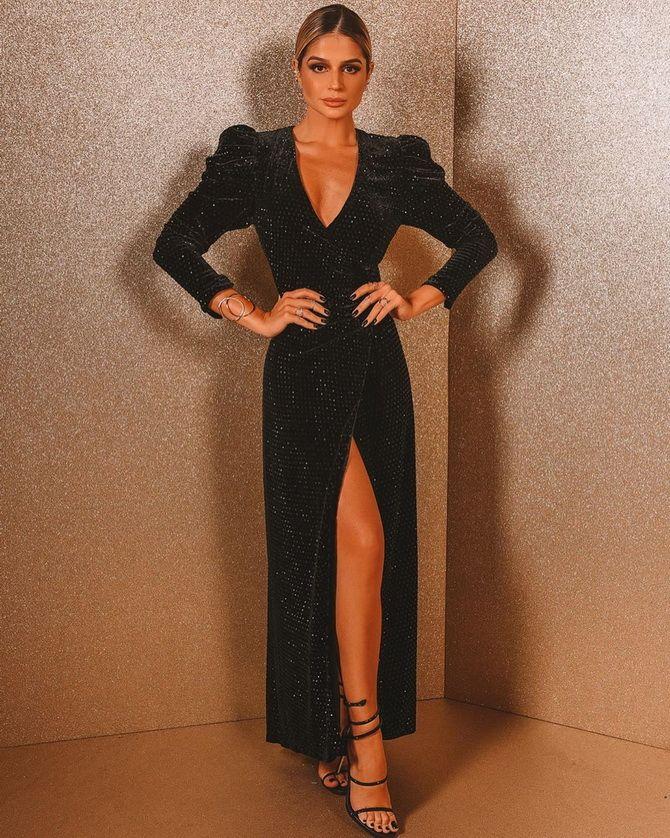 Модные платья с разрезом: лучшие фасоны и силуэты 2020-2021 года 27